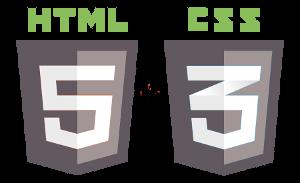 Logo HTML5 e CSS3